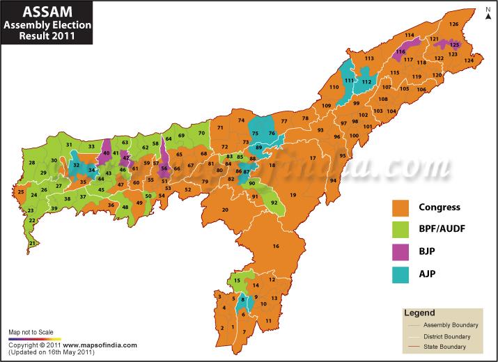 Assam 2016 elections